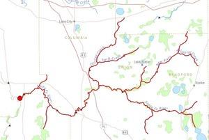 300x201 Santa Fe River, in Santa Fe and Itchetucknee Rivers, by John S. Quarterman, for WWALS.net, 25 June 2014