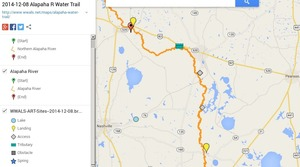 300x167 ARWT North Legend, in Alapaha River Water Trail draft map, by John S. Quarterman, for WWALS.net, 8 December 2014