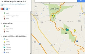 300x192 ARWT Jennings Legend, in Alapaha River Water Trail draft map, by John S. Quarterman, for WWALS.net, 8 December 2014