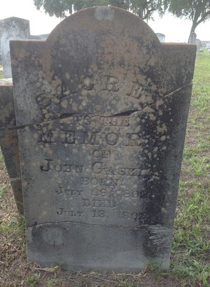 300x410 There are several very old tombstones in the cemetery., in Alapaha River access at Riverside Church, by Bret Wagenhorst, 14 September 2014