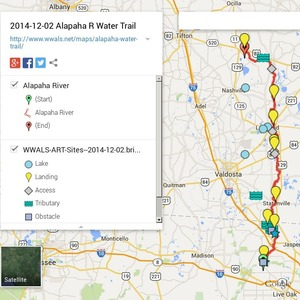 300x300 ARWT Legend, in Alapaha River Water Trail draft map, by John S. Quarterman, for WWALS.net, 2 December 2014