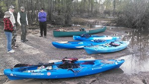 300x169 Boats at the ready, in Alapaha deadfalls, by John S. Quarterman, for WWALS.net, 17 January 2015