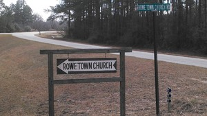 300x169 Rowe Town Church, in Alapaha deadfalls, by John S. Quarterman, for WWALS.net, 17 January 2015