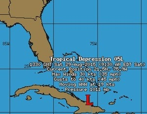 Intellicast: Tropical Storm Erika