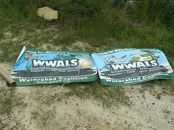Old and new banners