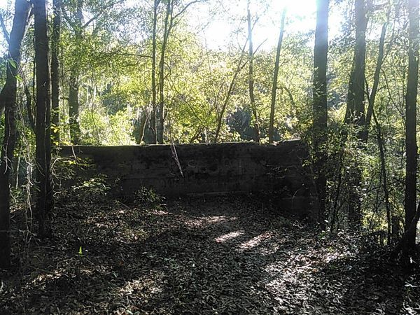 Remains of Belleville Bridge, Madison County side
