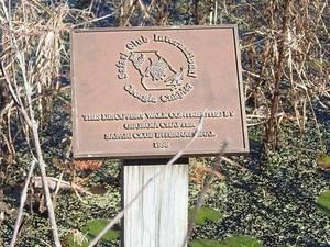 Safari Club International sign
