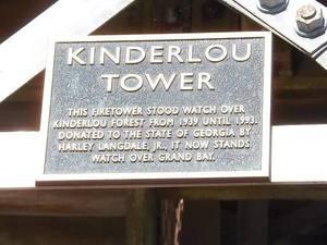 Kinderlou Tower sign