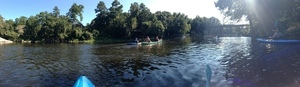 Withlacoochee Confluence panorama
