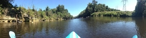 Panorama: pipeline proposed to cross the Withlacoochee here