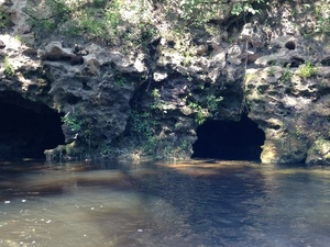 Two caves