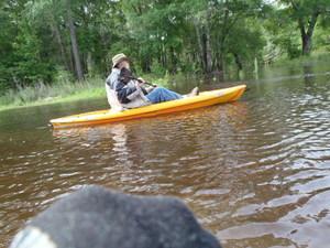 jsq may need a bigger kayak