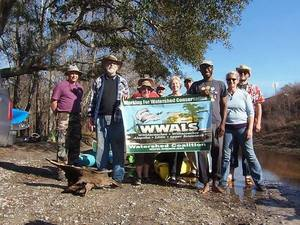 After WWALS banner by Gretchen Quarterman