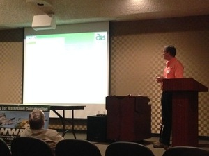 USGS Senior Hydrologist David Bosch about Southeast Watershed research activities