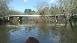 GA 122 bridge, Yellow Dog, paddle, Withlacoochee River 31.0131244, -83.3015366