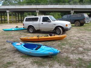 Kayak deliverty at GA 122