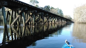 Railroad bridge 31.2900562, -83.0480423