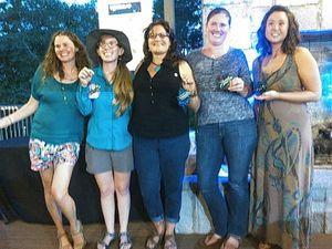 GRN, Mary Freund of Satilla Riverkeeper, Altamaha Riverkeeper Jen Hilburn, Savannah Riverkeeper Tonya Bonitatibus, Ogeechee Riverkeeper Emily Markesteyn