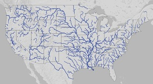 Dead River Archives WWALS Watershed Coalition Suwannee - Map of all us rivers