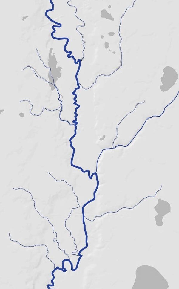 Alapaha River at Hotchkiss Road, Naylor, Mayday