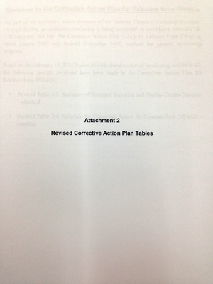 Attachment 2: Revised Corrective Action Plan Tables