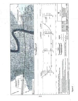 Figure 3: FEIS Page E-55, Site Plan and Profile, Suwannee River HDD