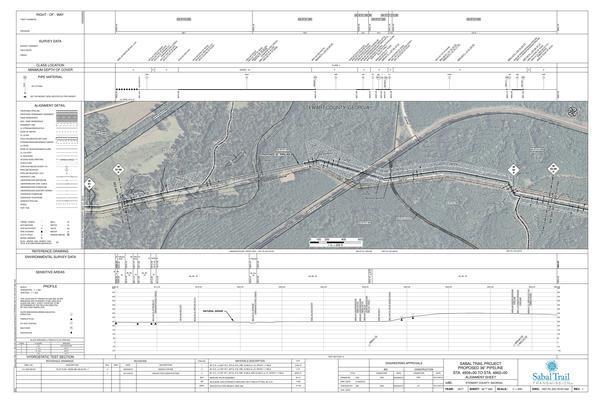 Hannahatchee Creek HDD, KMI Pipeline, Chattahoochee Valley Trail, Stewart Co., GA