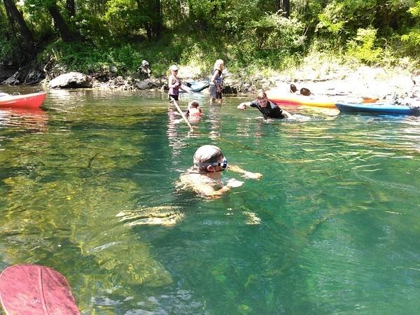 McIntyre Spring snorkel