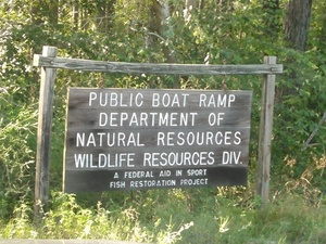 Public Boat Ramp, DNR, Wildlife Resources Div., 31.0427856, -83.4922790