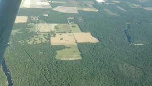 Hamilton County drill pad location between Withlacoochee and Suwannee Rivers, 30.4066190, -83.1700270