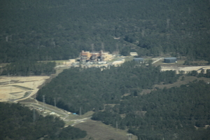 Duke Suwannee Power Plant in the distance, 30.3720380, -83.1790420