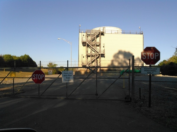 Please use Brick Plant Road Entrance, Hillabee Power Plant,