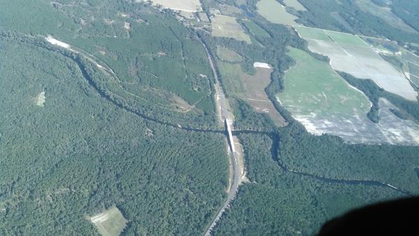 Horn Bridge, Mozell Spells, Withlacoochee River, GA-FL line,