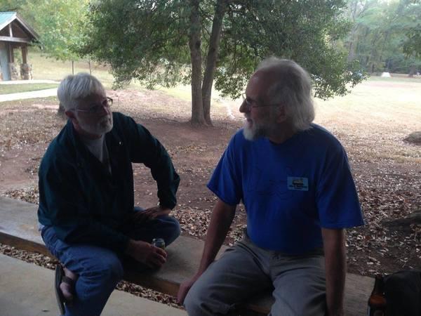 Flint Riverkeeper Gordon Rogers and John S. Quarterman of WWALS