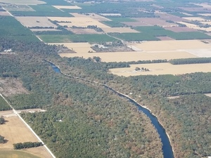 Sabal Trail HDD, Santa Fe River, 29.9085150, -82.8452400