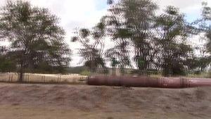 Movie: Pressure fittings on pipe (3.7M)