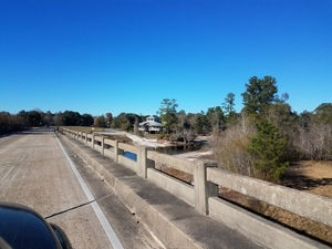 Up Barton St. to Fargo from Suwannee River, 20161210 145821 30.6806493, -82.5596412
