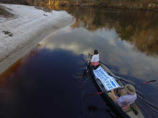 Suwannee Riverkeeper banner