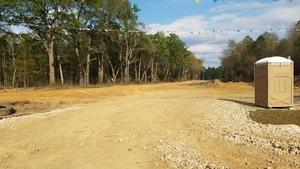 Tire, Sabal Trail, Porta-pottie, e. of Ouslie Road 30.7684033, -83.4192375