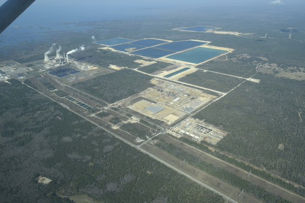 Duke natural gas and nuclear plants, Crystal River, FL,