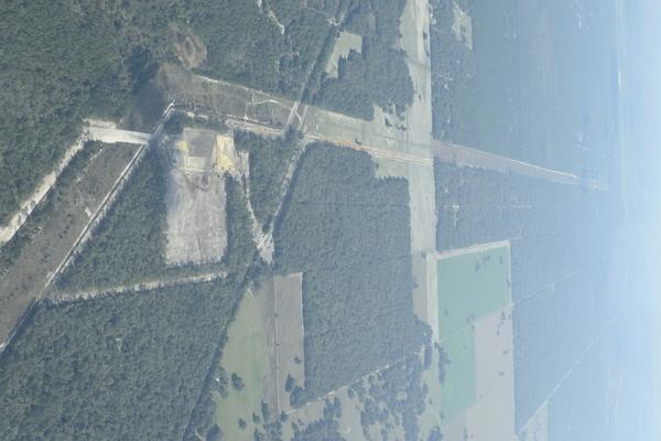 E across Dunnellon Compressor Station,