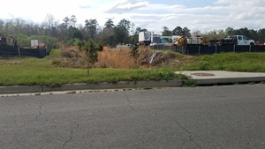 Middle drainage ditch, 30.7632904, -83.5534171