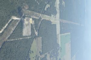 E across Dunnellon Compressor Station, 29.0037240, -82.3481820