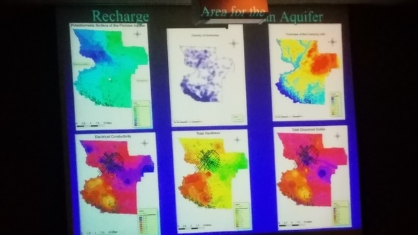 Recharge Areas for the Floridan Aquifer --Can Denizman