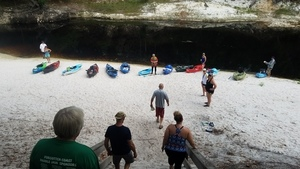 Assembling at the Suwannee River, 30.3620500, -82.8685700