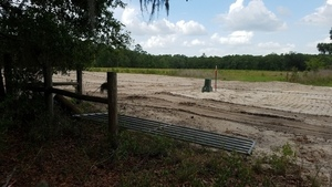 Landowners gate removed 30.4059579, -83.1527133
