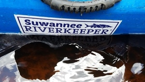 Suwannee Riverkeeper, tannic water, 30.3753621, -82.8930762