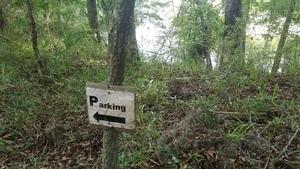 Parking sign, 30.4088900, -83.1603980