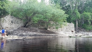 Suwannee Springs wall, 30.3946500, -82.9344300