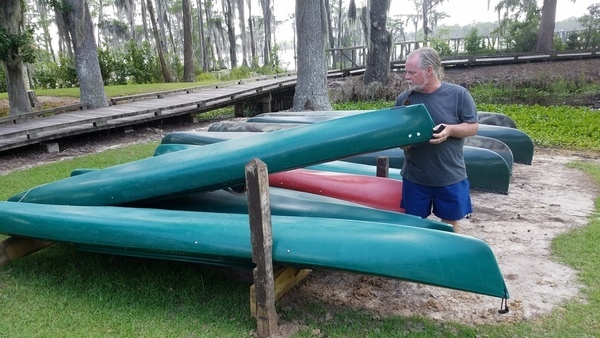 Kayaks for rent: 10 foot Old Town